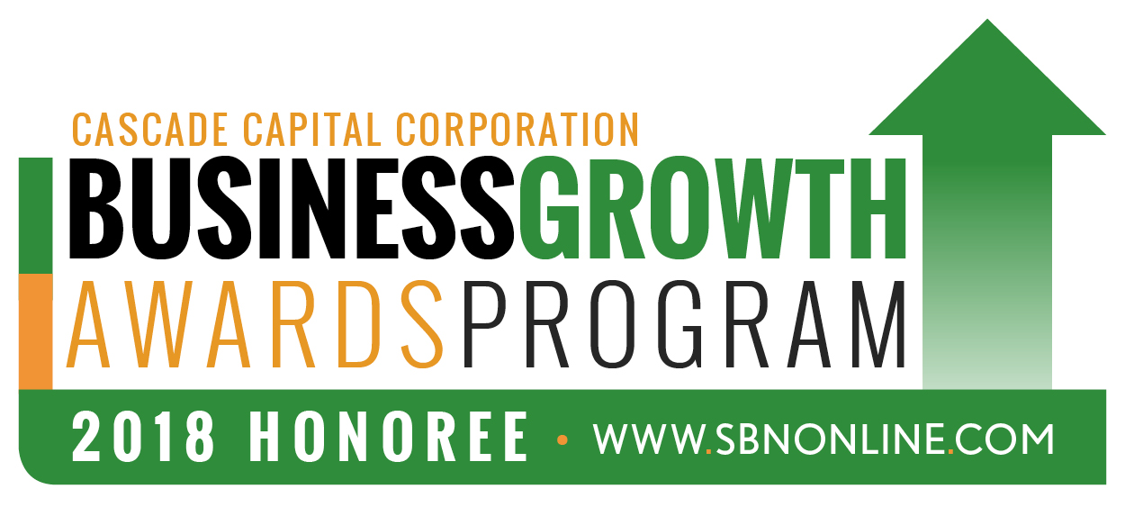 2018 Cascade Capital Business Growth Award