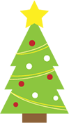 iIlustrated Holiday Tree